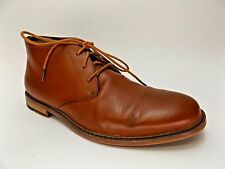 Deer Stags Seattle Men US SZ 8.5 M Tan Chukka Boot BROWN LEATHER PRE OWNED D2504