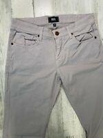 Paige Nordmandie Mens Jeans Size 30x33 Stretch Slim Fit Ivory Beige