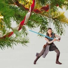 Star Wars The Last Jedi Rey #1 2017 Hallmark Magic Ornament Skywalker