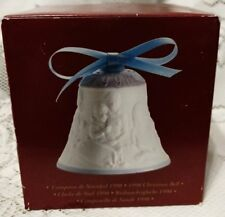 Lladro 1998 Christmas Matte Porcelain Bell Family Tree Piano Ornament 16560 Box