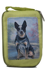 Australian Cattle Dog Foldable Tote Bag - Durable, Waterproof - Zipper Market