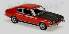 wonderful  modelcar FORD CAPRI RS 1969 - red - scale 1/43 - lim.ed