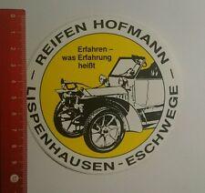 Aufkleber/Sticker: Reifen Hofmann Lispenhausen Eschwege (270916140)