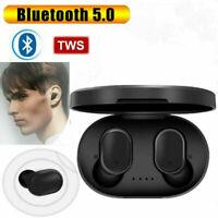 Écouteurs TWS Sans Fil Bluetooth 5.0 Casque Oreillette Stéréo Sport Universel