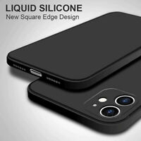 COVER per iPhone 12 Pro Max Mini Custodia TPU Liquid Silicone + Vetro Temperato