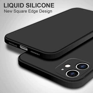 COVER per iPhone 12 Pro Max Mini Custodia TPU Liquid Silicone + Vetro Temperato