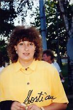 Daniela Costian Australien Olympia Leichtathletik original signiert Foto (M-6913