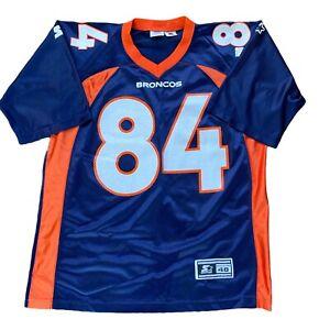 Shannon Sharpe #84 Denver Broncos NFL Super Bowl Starter Jersey 48