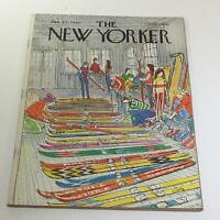 The New Yorker: January 21 1980 Full Magazine/Theme Cover Arthur Getz