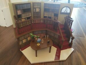 BUFFY SUNNYDALE LIBRARY PLAYSET COMPLETE