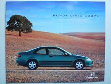 Prospekt Honda Civic Coupe, 3.1995, 12 Seiten, 30x24 cm groß