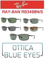 Occhiali da Sole RAYBAN RB3498N/A Sunglasses Ray Ban Classic Metal Man Brillen