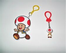 Super Mario Backpack Buddies & Hanger Toad Loose No Packaging Just As Pictured