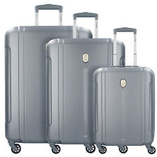 DELSEY Abs-3446 Suitcases 4 Wheels Set of 3pcs. (grau)