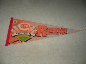 Vintage Cincinnati Reds Felt Pennant