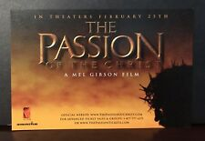 """The Passion of the Christ Movie Promo 4"""" x 6"""" card Mel Gibson"""