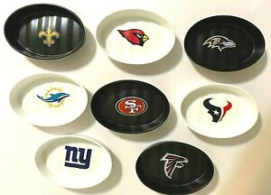 NFL Polymer Soap Dish Coin Tray or Key Ring Tray NFL Choose Team