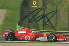Felipe Massa - Original-Autogramm (handsigned/handsigniert)  RARITÄT Ferrari2006