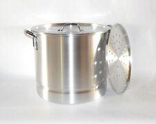 40 Qt Tamale Steamer Vaporera Stock Pot Premium Aluminum Tamalera 10 Gallons BIG