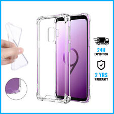 Transparent Clear Bumper Case Cover Cas Silicon Coque For Samsung Galaxy S9 Plus