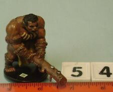54-19 HILL GIANT BARBARIAN  * D&D MINATURE * Pathfinder * Dungeons Dragons