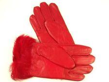 Gants et moufles rouge taille S pour femme