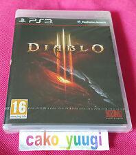 DIABLO III DIABLO 3 SONY PS3 NEUF SOUS BLISTER 100% FRANCAIS