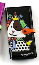 Romero Britto large wallet DOG BEAGLE NEW with tag