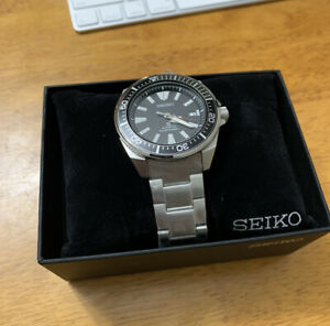 Seiko Prospex Men's Black Watch - SRPB51
