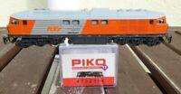 PIKO 47323 TT Diesellok BR 230 077 RTS Swietelsky Epoche 5/6, DSS + LED rot/weiß