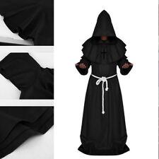 Disfraz Hechiceros Wizard Camuflaje Halloween Monje Sacerdote Traje Religioso