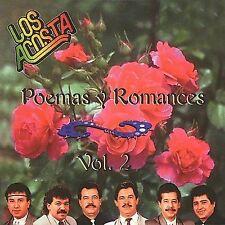 New: LOS ACOSTA: Poemas Y Romances 2  Audio CD
