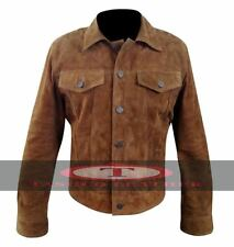 Wolverine 3 Logan Hugh Jackman Suede Leather Jacket