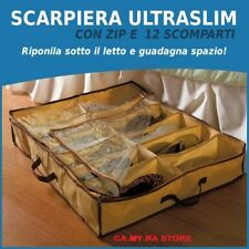 SCARPIERA SALVASPAZIO SALVA SPAZIO 12 PAIA SOTTILE CON ZIP SHOES UNDER