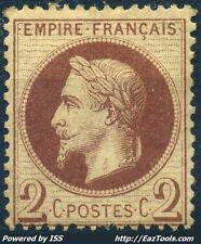 FRANCE EMPIRE N° 26 NEUF * AVEC CHARNIERE COTE 200€ A VOIR