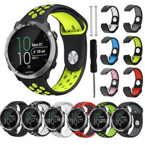 Silicone Wrist Watch Band Strap For Garmin Fenix 3/3 HR / Fenix 5X Universal US