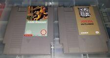 Legend of Zelda Outlands + Loadrunner Nintendo NES Rom games New