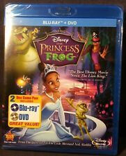 The Princess and the Frog (Blu-ray/Dvd, 2011, 2-Disc Set) Factory sealed