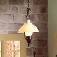 1/12 Scale Dolls House Emporium 'Gas' Hanging Ceiling Light 12V 7096