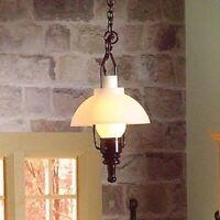 1/12 Scale Dolls House Emporium 'Gas' Hanging Ceiling Light 12V 7096