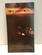 Firefly Serenity Done the Impossible Documentary Large Promotional Card Rare!