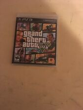 Grand theft auto 5 ps3 sealed