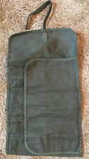 Vintage Military Canvas Tool Roll Tool Keeper New Old Stock!