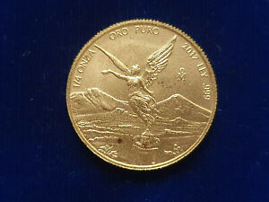 🔥2017 Mexico 1/4 oz Gold Libertad Coin UNCIRCULATED W/COPPER SPOTS MINTAGE 500!