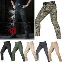 Outdoor Military Urban Tactical Pants Combat Cargo Resistant Waterproof Trousers