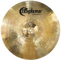 BOSPHORUS Gold Serie Crash Becken 13 Zoll