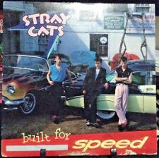 STRAY CATS Built for Speed Album Released 1982 Vinyl/Record  Collection US press