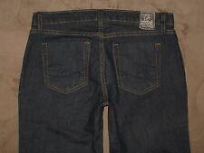 Chip & Pepper Size 30 Flare Artic Fox Dark Blue Stretch Denim Womens Jeans