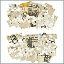 Elvis Presley 1977 Death Newspaper Press Cuttings Collection (USA)