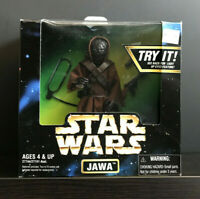 STAR WARS Action Collection JAWA light up eyes1997 NIB Sealed Kenner 27744/27741